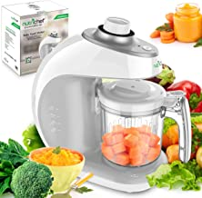 Digital Baby Food Maker Machine - 2-in-1 Steamer Cooker and