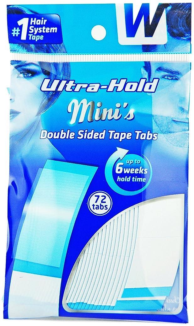 強力両面テープ:ULTRA HOLD 1袋36枚入り(小分け72枚)テープ形状:アジアカーブ