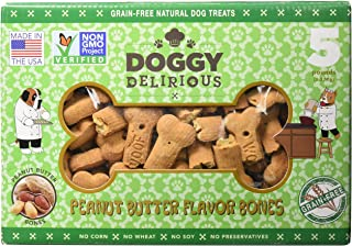 Doggy Delirious Peanut Butter Treats