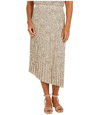 Sanctuary The Summer Pleated Skirt (Mini Leopard) Women