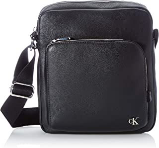 Calvin Klein CK Jeans Reporter W/Zip Pckt, Accessori Uomo, Black, One Size
