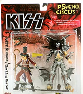 McFarlane Toys KISS Psycho Circus Gene Simmons (The Demon) and The Ring Master Action Figures