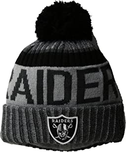 New Era - NFL17 Sport Knit Oakland Raiders