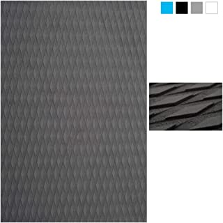 Abahub Non-Slip Traction Pad Deck Grip Mat 30in x 20in Trimmable EVA Sheet 3M Adhesive for Boat Kayak Skimboard Surfboard SUP Black/Blue/Gray/Green/Orange/Navy Blue/White (Renewed)