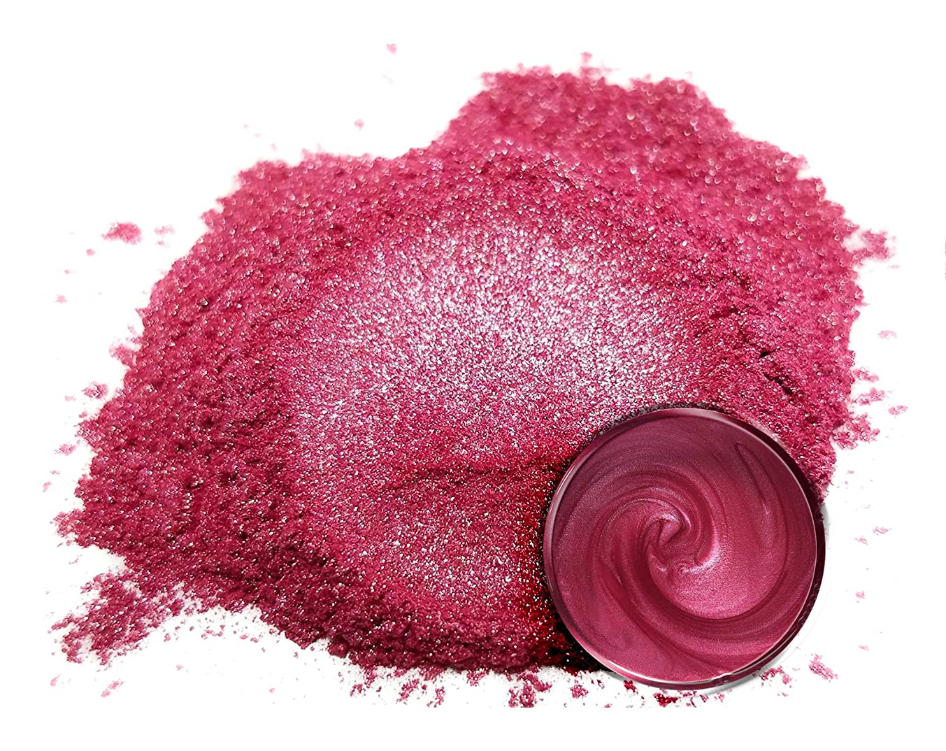 "Eye Candy Mica Powder Pigment ""Beniimo Red"" (50g) Multipurpose DIY Arts and Crafts Additive 