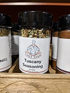 Chef Stan Italian Spices and Seasonings Blend - Salt-Free All-Purpose Tuscan Seasoning for Chicken, Bread Dipping Oil, Veg...