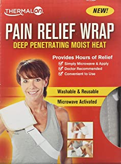 Sponsored Ad - Thermalon Microwave Activated Moist Heat Pain Relief Wrap, Multi-Purpose Pain Reliever
