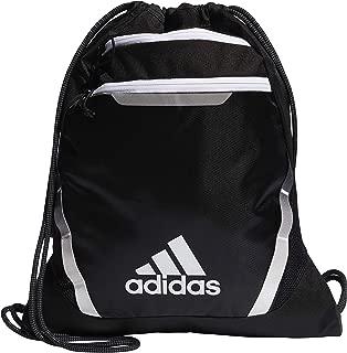 adidas Unisex Rumble III Sackpack, Black/White, ONE SIZE