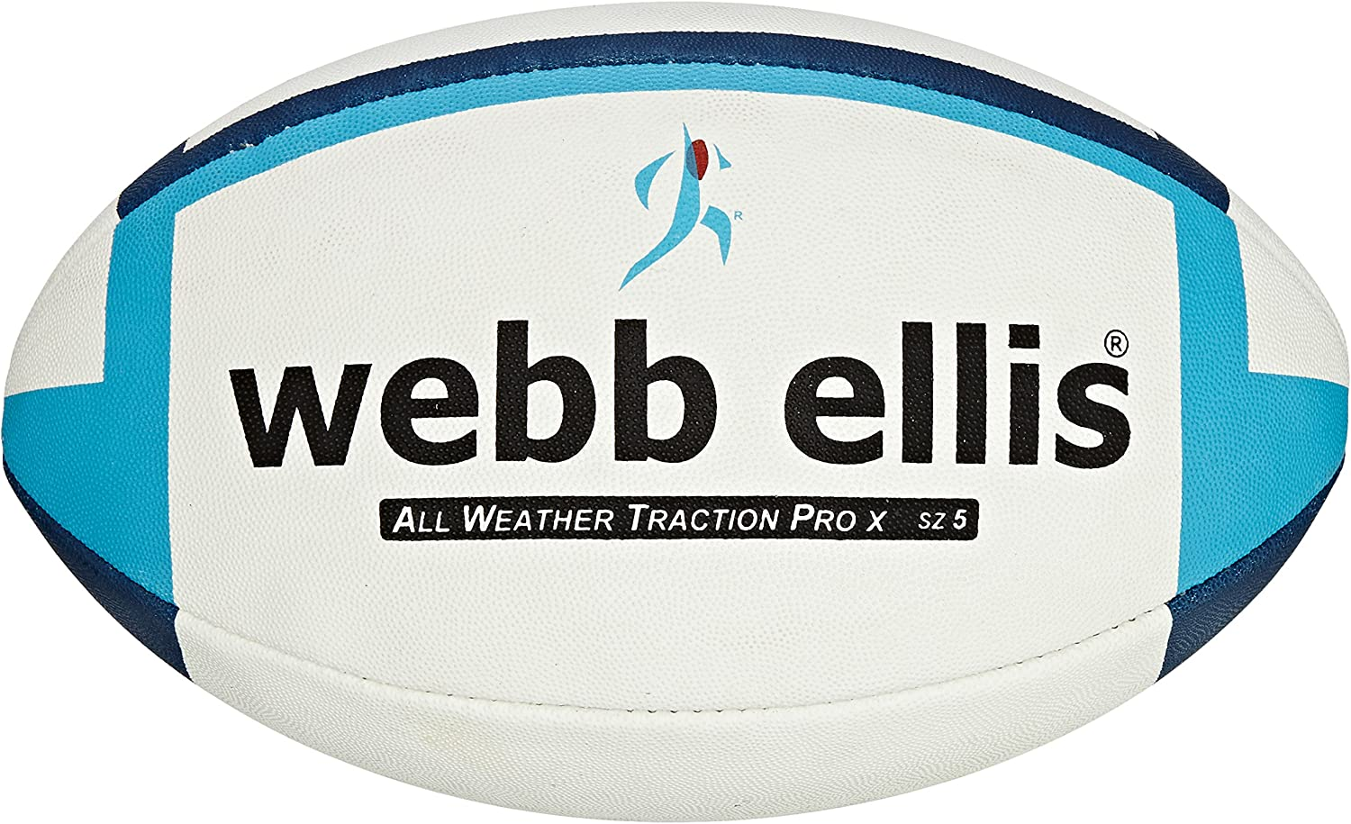 Webb Ellis All Weather Traction Pro Recommendation X - Pr Ball Navy Match Sale item Rugby