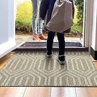 """Indoor Doormat, Non Slip Absorbent Resist Dirt Entrance Rug, 20""""x32"""" Machine Washable Low-Profile Inside Floor Door Mat"""