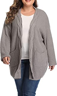 Shiaili Women Flowy Plus Size Tunic Tops Draped Ruffle 3/4 Sleeve T Shirts