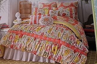 Dena Home Nostalgia Lily Twin Bedskirt/dust Ruffle 18