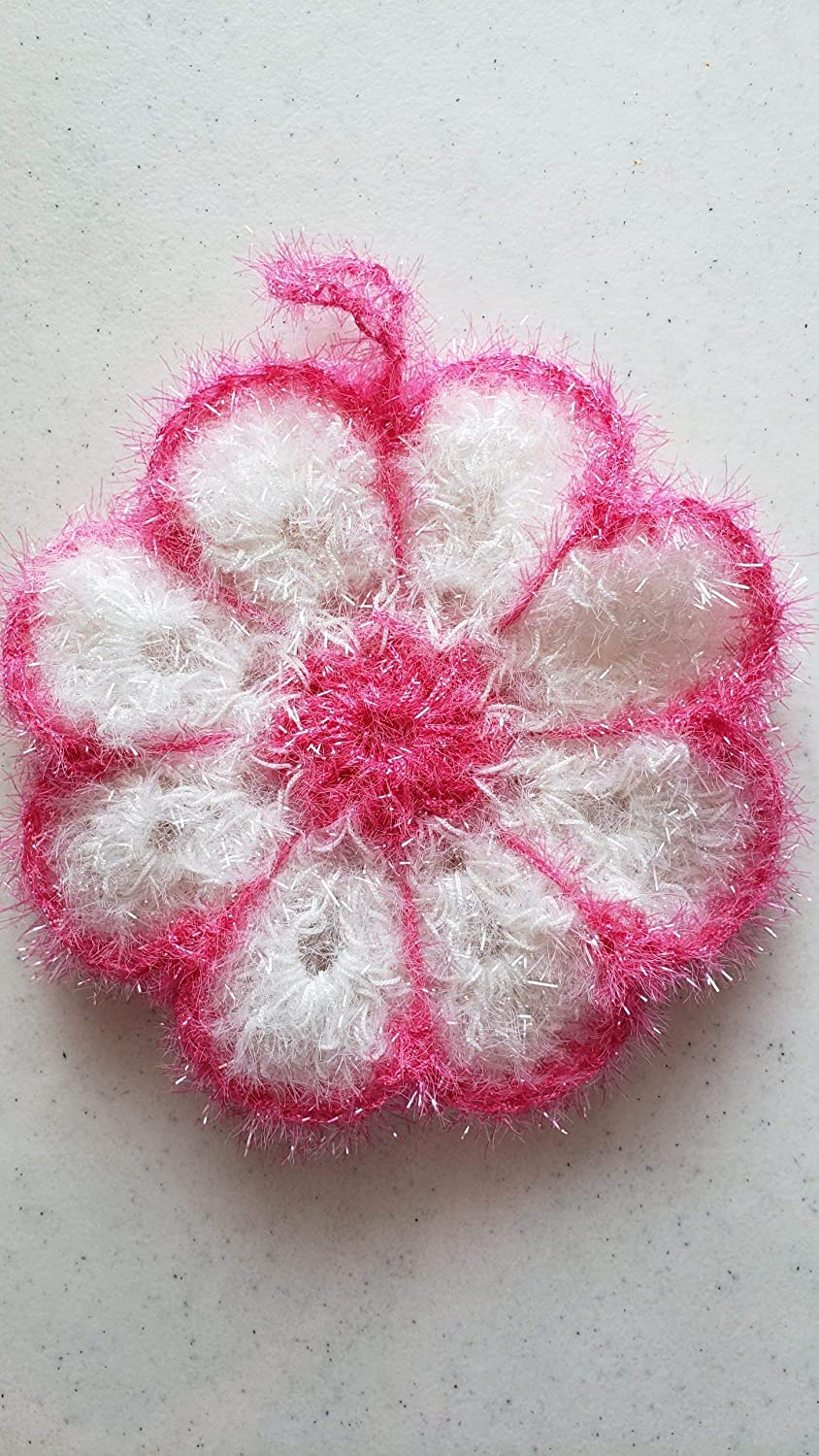 Handmade crochet dishcloth dish scrubby or scrubber Sales High quality results No. 1
