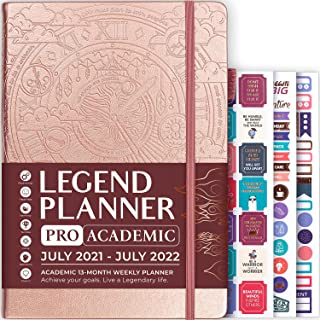Legend Academic Planner Pro July 2021-July 2022 – Dated Weekly & Monthly Planner for a Productive & Happy Life – Dated Jou... photo