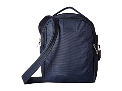 Pacsafe Metrosafe LS100 Anti-Theft Crossbody Bag (Deep Navy) Cross Body Handbags
