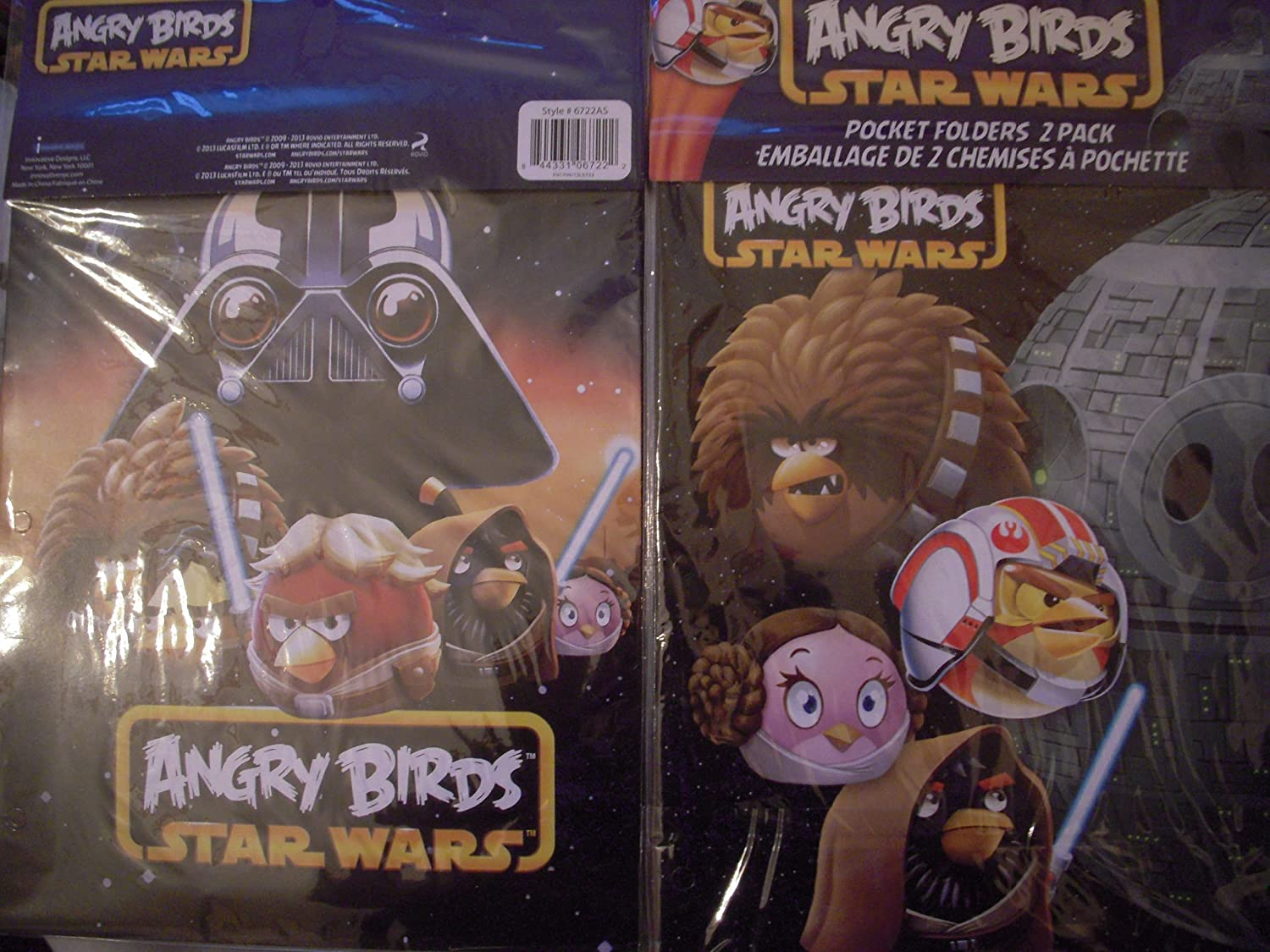 Easy-to-use Angry Birds Star Wars Weekly update Pocket - Folders 2 Pack