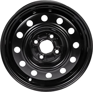 "Dorman Steel Wheel with Black Painted Finish (14x5.5""/4x100mm)"