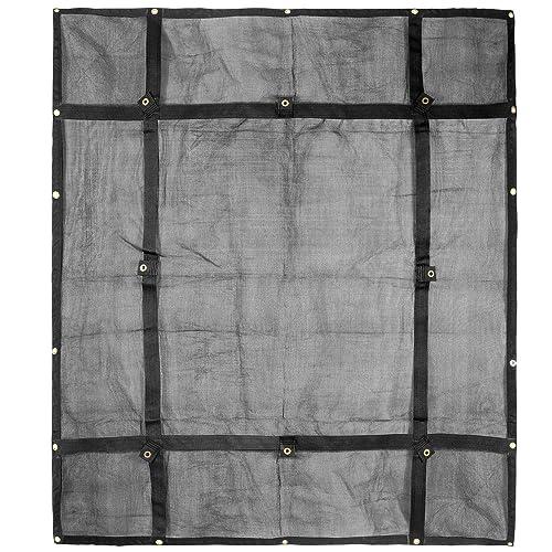 Truck Bed Cargo Net Organizer 6.75x 8 | Heavy Duty Bungee Webbing,