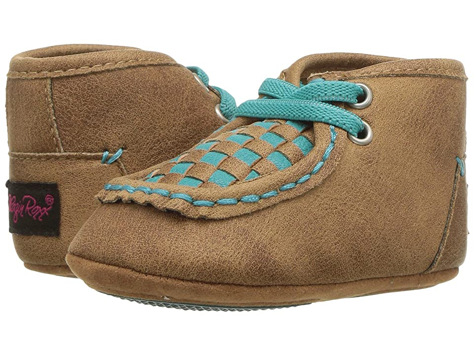 M&F Western Kids Cassidy (Infant/Toddler) (Brown/Turquoise) Cowboy Boots