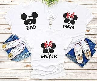 Disney family matching custom shirts, Family vacation Disney shirts,Mickey Minnie mouse Personalized shirt, Personalized Disney Shirts for Family D2