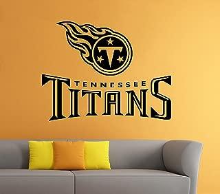 Tennessee Titans Wall Vinyl Decal Sticker NFL Emblem Football Team Logo Sport Poster Home Interior Removable Decor