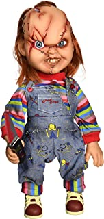 Mezco Toyz Child's Play Talking Mega Scale Chucky Action Figure, 15