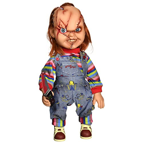 Mezco Toyz Childs Play Talking Mega Scale Chucky Action Figure, ...