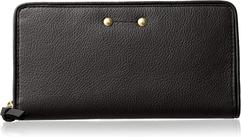 Cole Haan Jade Leather Continental Zip Around Wallet