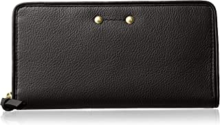 Cole Haan Jade Leather Continental Zip Around Wallet