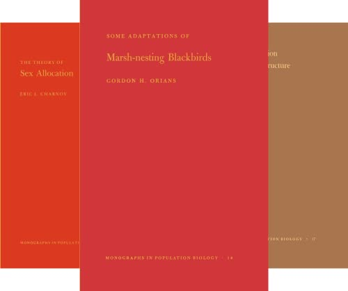 Monographs in Population Biology (51-62) (12 Book Series)
