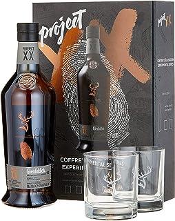 Glenfiddich Project XX mit Geschenkverpackung mit 2 Gläsern und schwarzem Salz 1 x 0.7 l