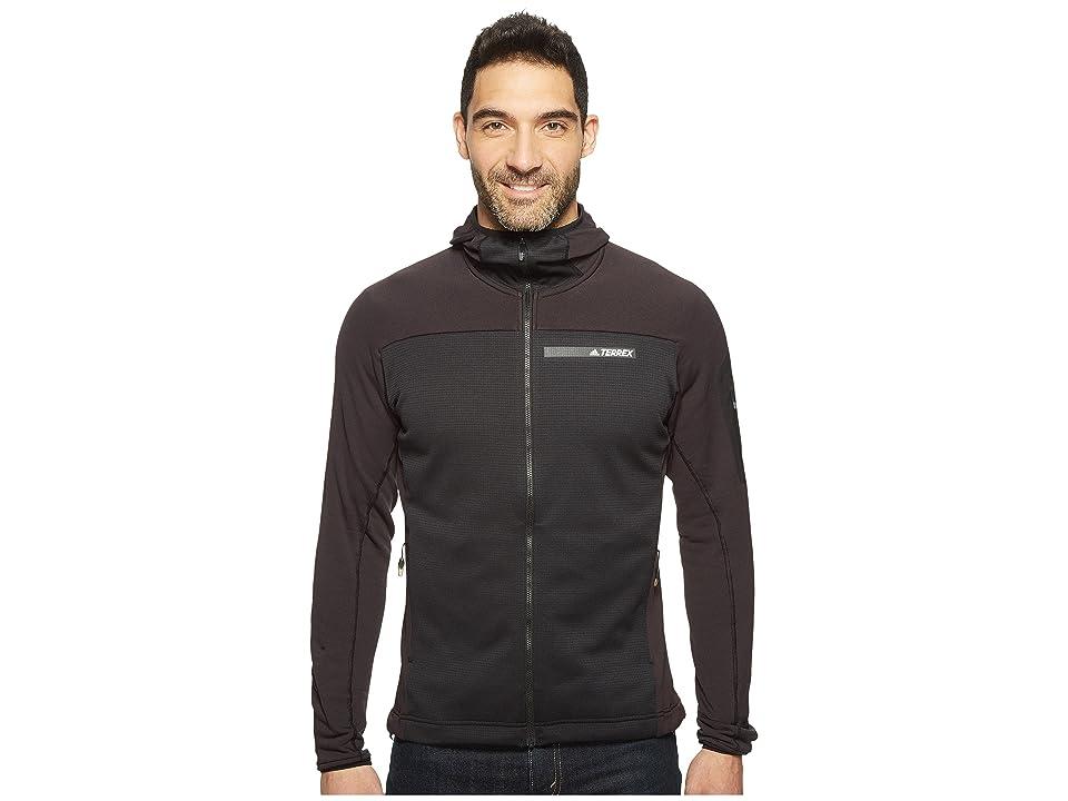 adidas Outdoor Terrex Stockhorn Fleece Hooded Jacket (Black) Men