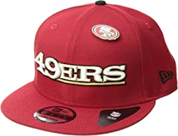 San Francisco 49ers Pinned Snap