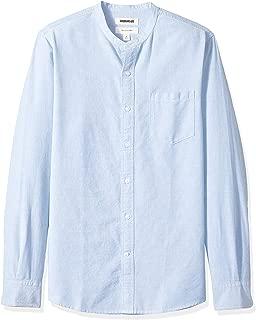 Best blue denim grandad collar shirt dress Reviews
