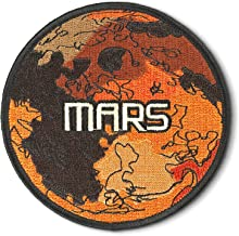 Spartan and The Green Egg Explorer Embroidered Patch: Mars (Sew Or Iron On)