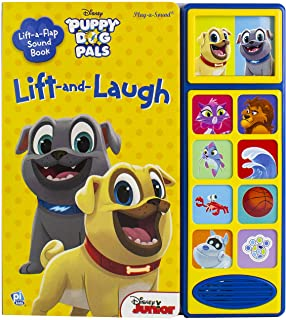 Disney Junior Puppy Dog Pals – Lift and Laugh Out Loud Sound Book – PI Kids..