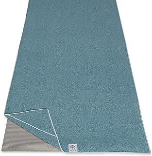 Gaiam Yoga Towel - Mat Sized Active Dry Non Slip Moisture Wicking Sweat Absorbent Microfiber Hot Yoga Towel for Women & Me...
