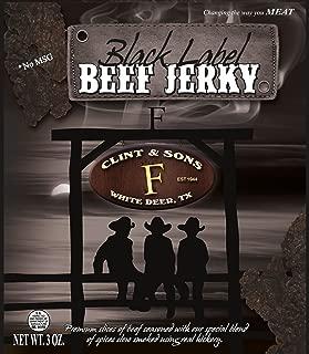 Black Label Beef Jerky 3oz (3/Pack)