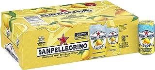 Sanpellegrino Lemon Sparkling Fruit Beverage, 11.15 Fl. Oz Cans (24 Count)