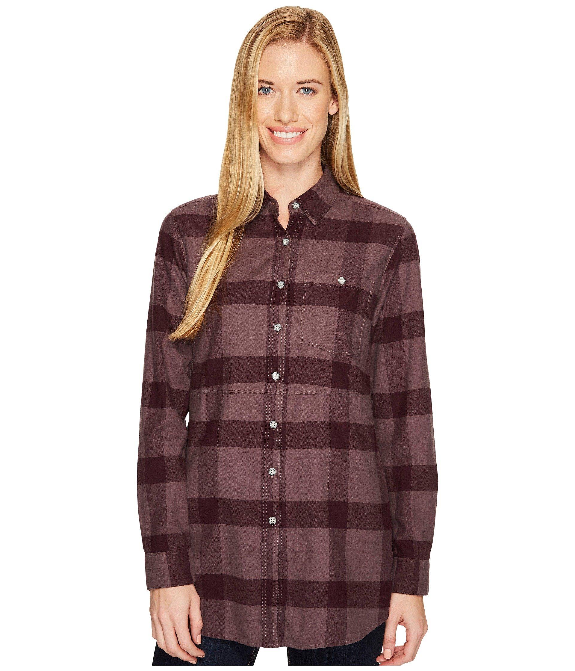 MOUNTAIN HARDWEAR Pt. Isabel Long Sleeve Tunic, Purple Sage