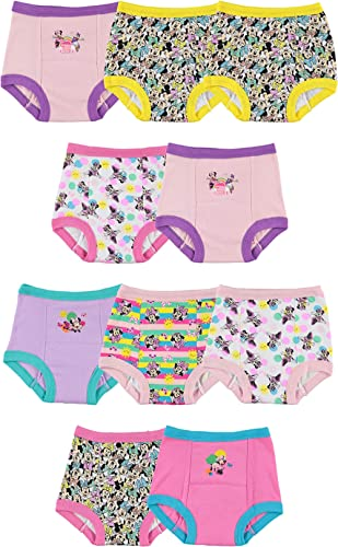 Disney Girls' Toddler Minnie Mouse Potty Training Pants Multipack