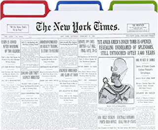 The New York Times Front Page File Folders, Set of 6 (01046)