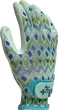 Digz Grip Latex-Free Coated Garden Gloves, Medium