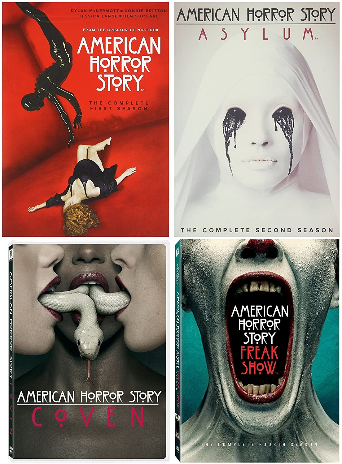American Horror Story: Seasons Max 60% OFF 1 - Collection 4 Limited time sale Complete