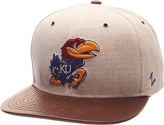 Zephyr Adult Men Havana Snapback Hat, Ivory/Dark Brown, Adjustable Size