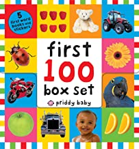 First 100 PB Box Set (5 books): First 100 Words; First 100 Animals; First 100 Trucks and Things That Go; First 100 Numbers; First 100 Colors, ABC, Numbers