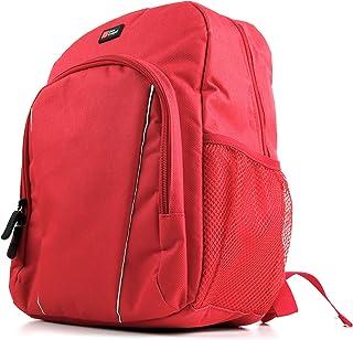 DURAGADGET Mochila para Portátil ASUS VivoBook E12 E203NA-FD021TS N3350, ASUS VivoBook E12 E203NA-FD088T + Funda Impermeable - Roja