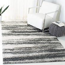 Safavieh Retro Collection RET2693-8479 Modern Abstract Dark Gray and Light Gray Area Rug (4' x 6')