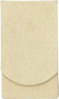 Boston International Tan Faux Suede Pocket Tissue Holder