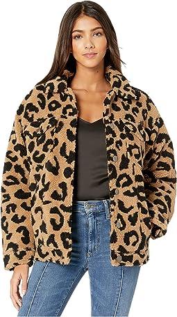 Leopard Faux Shearling